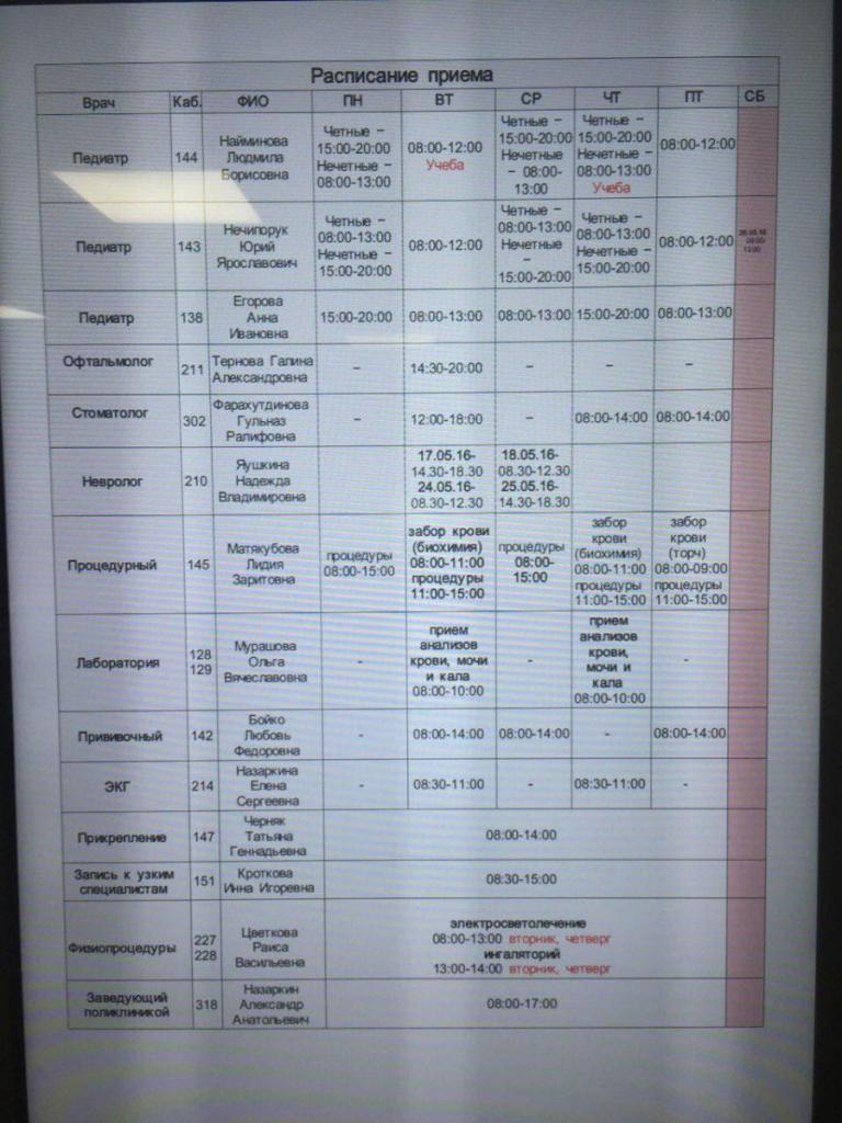Гагарина 4 реутов поликлиника 1